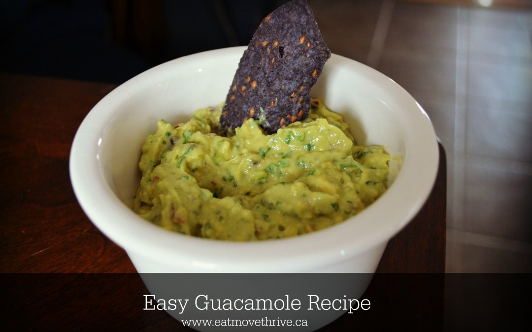 An Anniversary Dinner and Easy Guacamole Recipe
