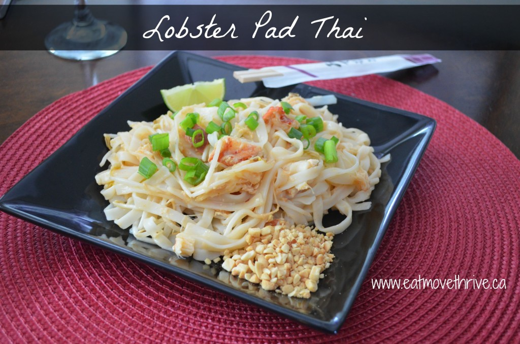 Lobster Pad Thai Recipe