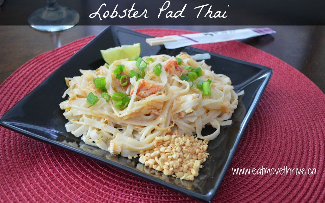 Lobster Pad Thai (and Date on the Deck)