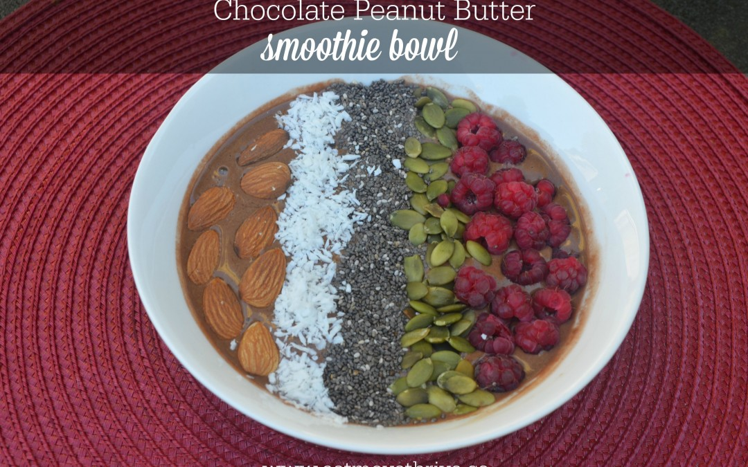 Slowing Down and a Smoothie Bowl Recipe