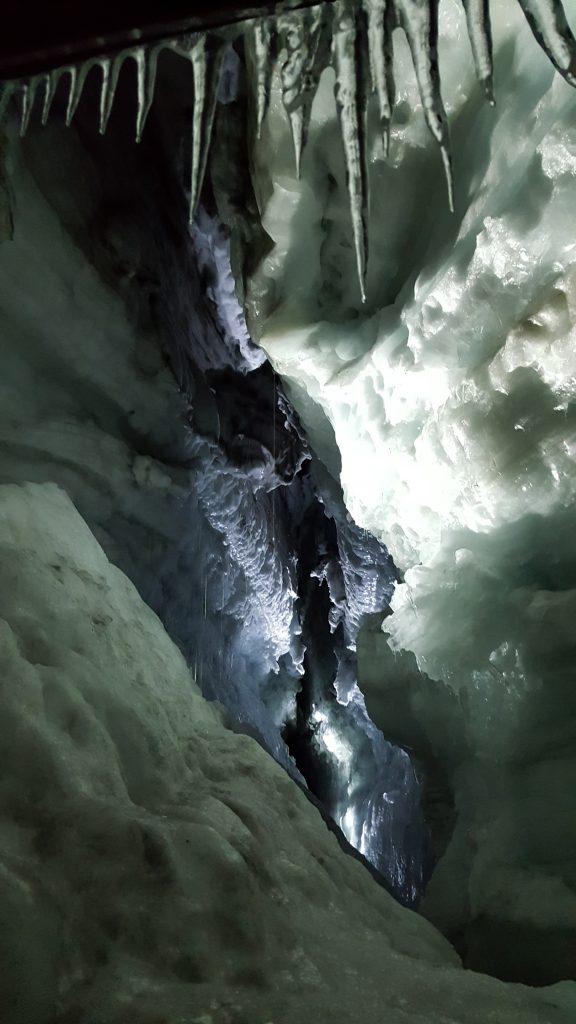 Crevice in the glacier
