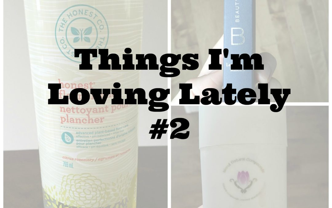 Things I'm Loving Lately #2